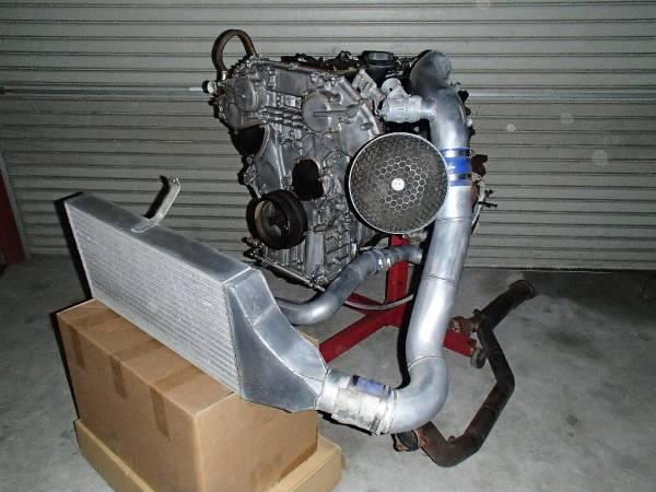 Custom Greddy Trust Td06 20g Turbo Kit Nissan 350z Vq35de