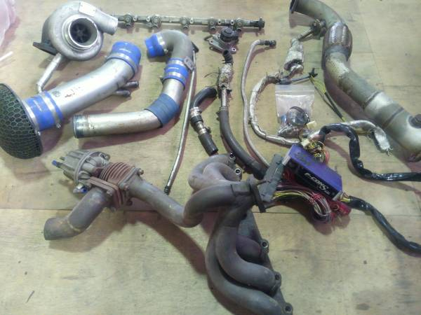 Greddy Trust Td06 20g Turbo Kit Jzx90 Toyota Chaser 1jzgte