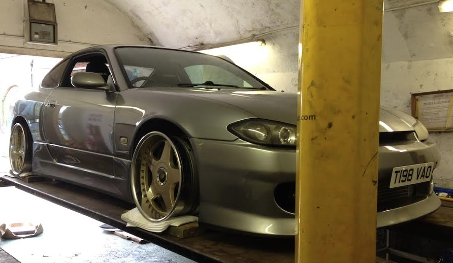 Awesome S15 SSR Koenig Test Fit