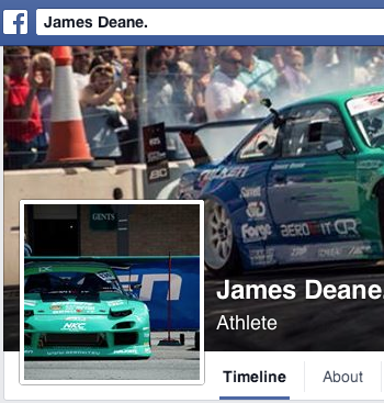 Falken driver James Deane partnership