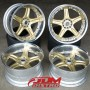 VOLK GTC GOLD 5x114.3 18 for sale uk ireland-1