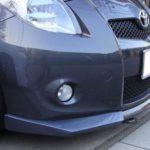 aero workz yaris vitz rs carbon front lip for sale