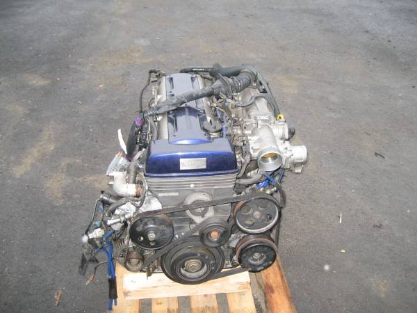 TOYOTA ARISTO SUPRA JZA80 JZS147 2JZGTE NON-VVTI ENGINE