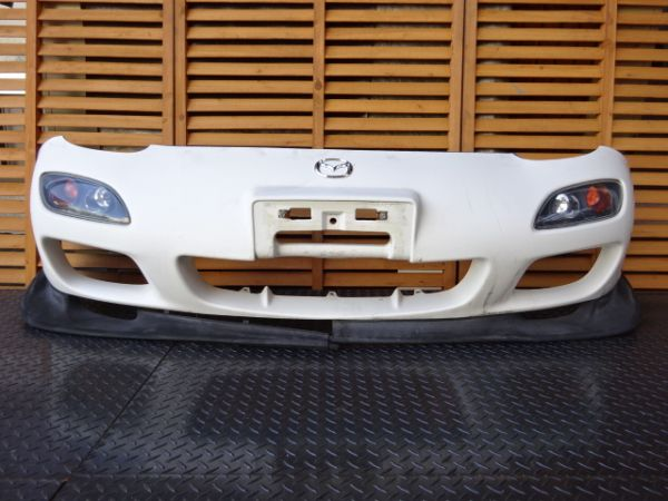 Mazda Rx7 Oem 99 Spec Front Bumper And Lip Jdmdistro