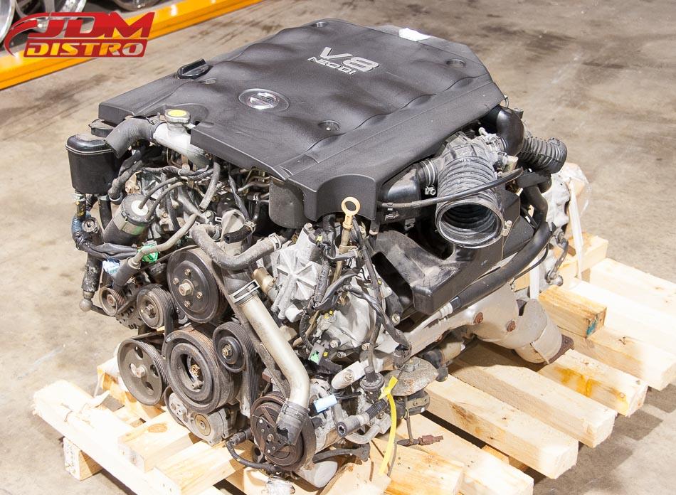 NISSAN CIMA VK45 4.5L V8 ENGINE & TRANSMISSION - JDMDistro - Buy JDM Parts Online Worldwide Shipping