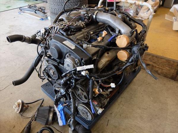 NISSAN SKYLINE R33 LAUREL C35 RB25DET TURBO ENGINE