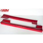 NISSAN SILVIA 180SX S13 OEM CHUKI SIDE SKIRTS FOR SALE UK EUROPE RED-2