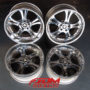 WEDS KRANZE CERBERUS chrome alloy wheels for sale uk europe-1
