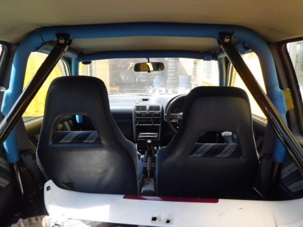 Toyota Starlet Ep82 Cusco 8 Point Roll Cage Jdmdistro Buy Jdm Parts Online Worldwide Shipping