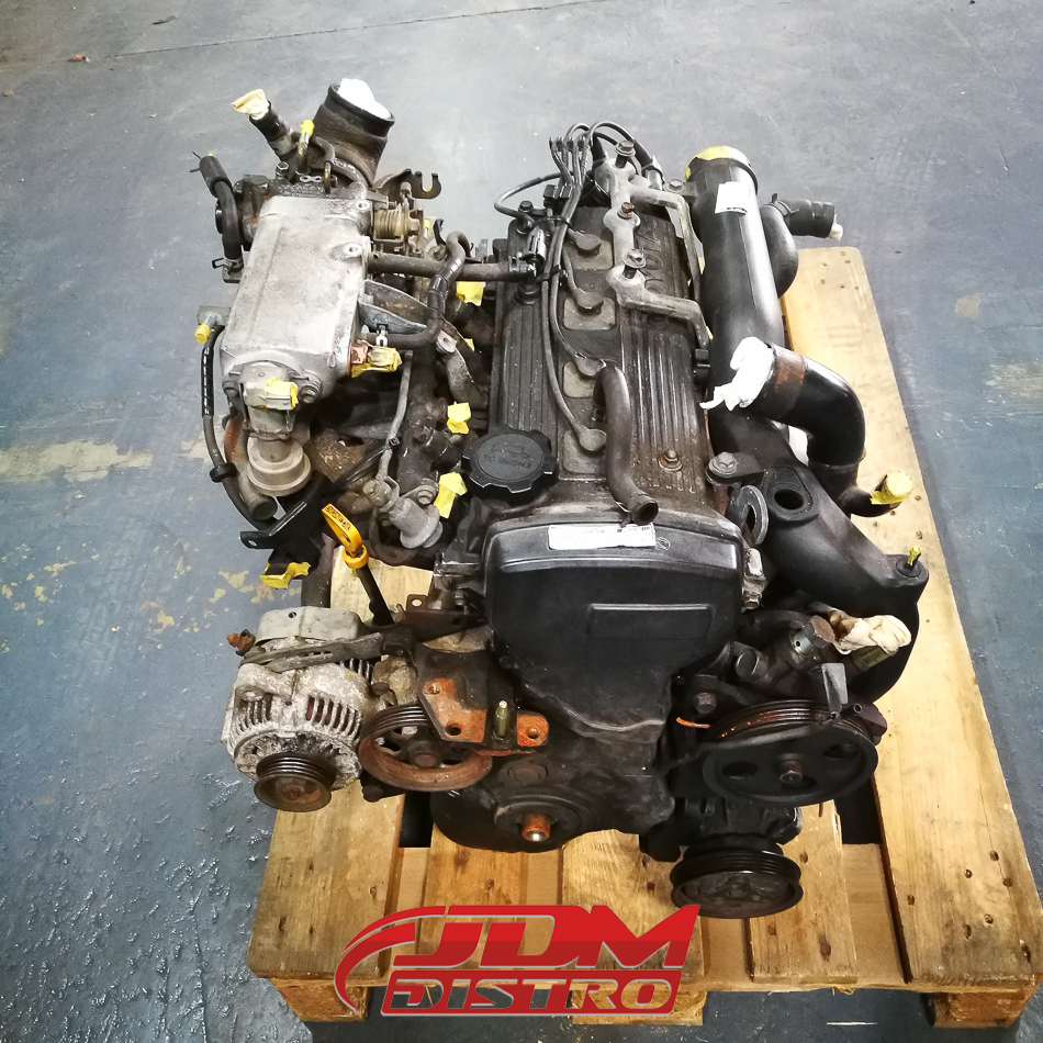 TOYOTA STARLET GLANZA TURBO EP91 EP82 4EFTE ENGINE