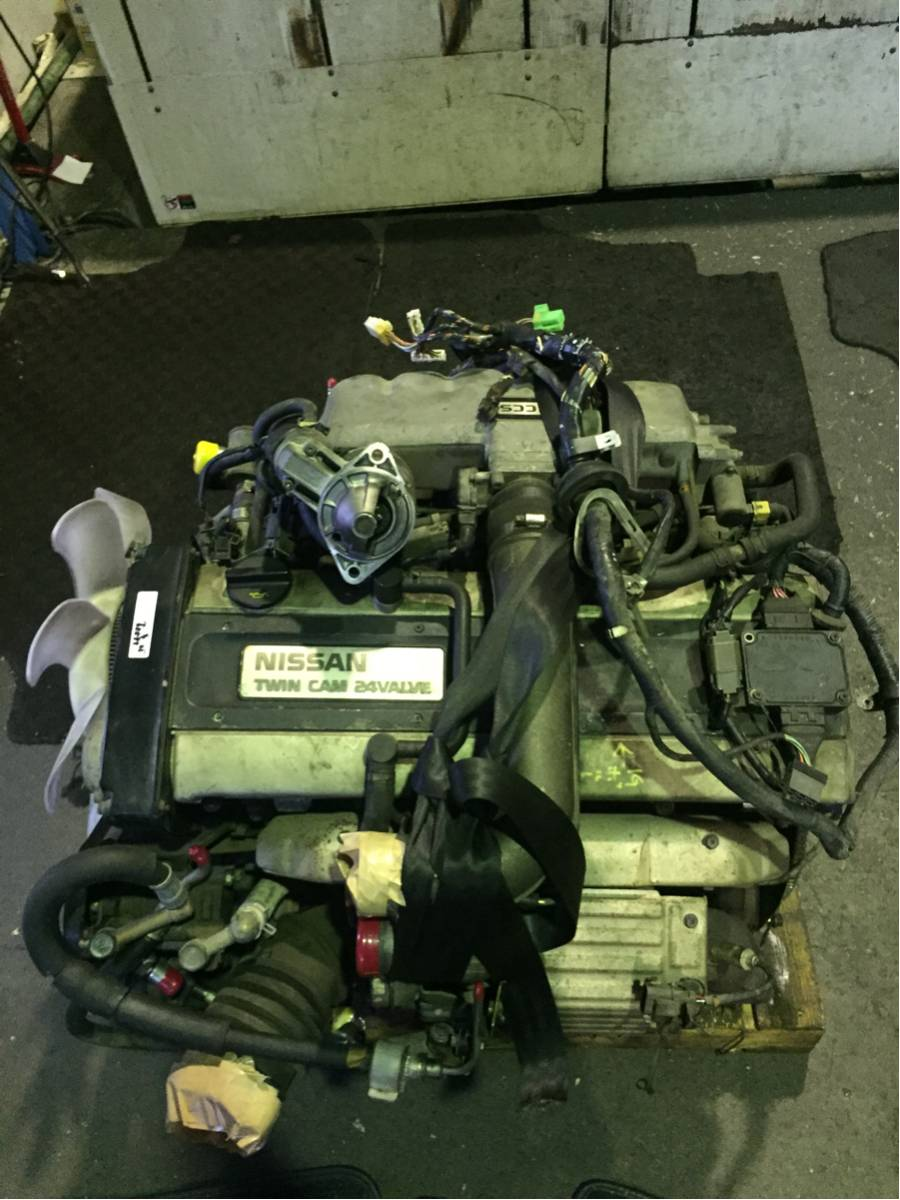 Nissan Skyline R32    Cefiro A31 Rb20det Engine