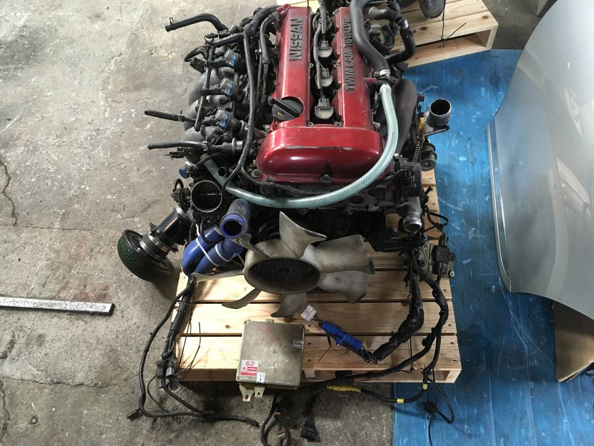 NISSAN S13 SR20DET NON-VVT REDTOP ENGINE - STAGE 2 TUNING