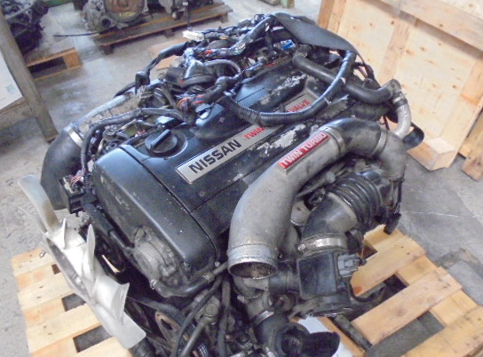 NISSAN SKYLINE R33 GTR V-SPEC RB26 ENGINE