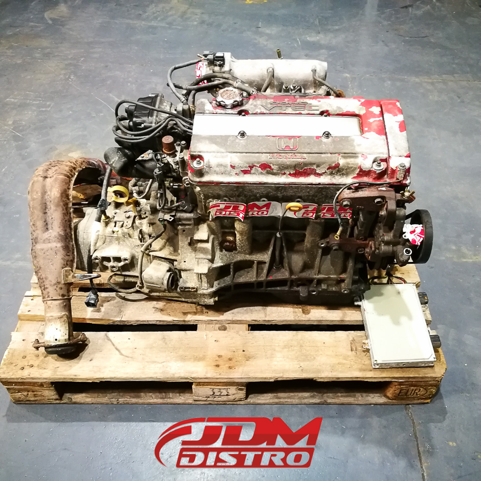 HONDA CIVIC TYPE-R EK9 B16B ENGINE AND S4C GEARBOX - JDMDistro - Buy JDM Parts Online Worldwide ...