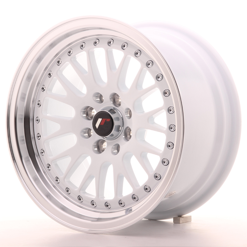 Japan Racing JR10 15x8 ET15 4x100/114 White