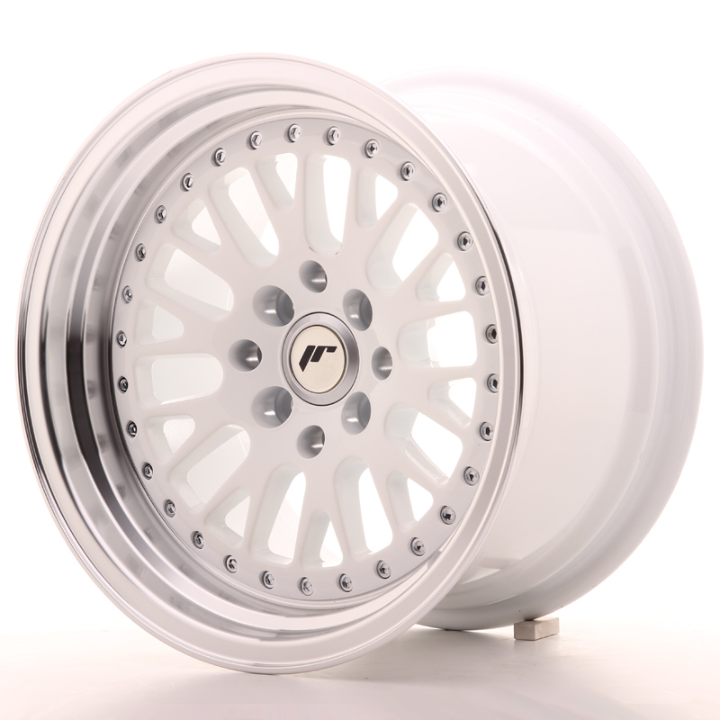 Japan Racing JR10 15x9 ET10 4x100/114 White