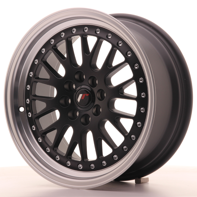 Japan Racing JR10 16x7 ET30 4x100/108 Matt Black