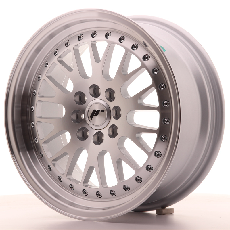 Japan Racing JR10 16x7 ET30 4x100/108 Silver+MLip
