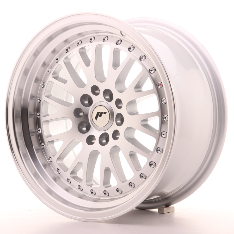 Japan Racing JR10 16x8 ET10 4x100/114 Machined Sil