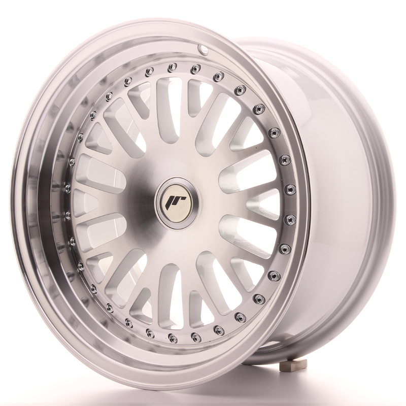 Japan Racing JR10 16x8 ET20 Blank Machined Silver