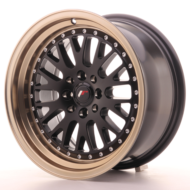 Japan Racing JR10 16x8 ET20 4x100/108 Black+Bronze