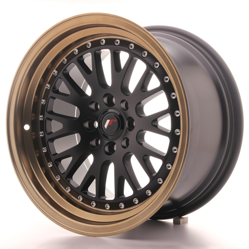 Japan Racing JR10 16x9 ET20 4x100/108 Black+Bronze
