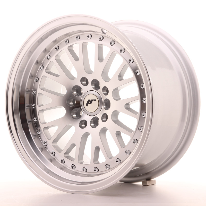 Japan Racing JR10 16x9 ET20 4x100/108 Machined Sil