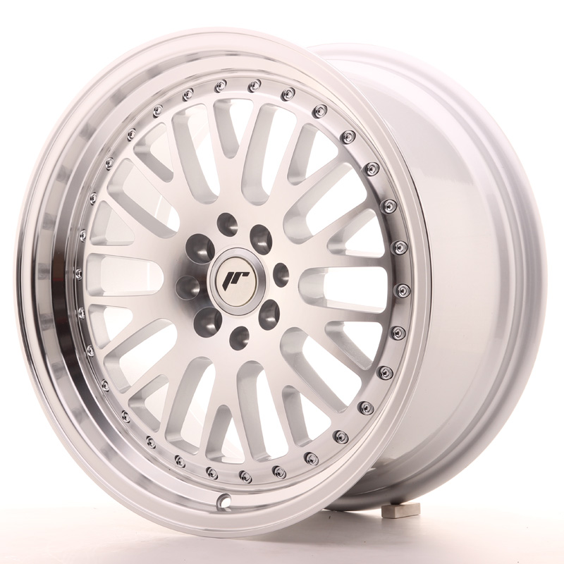 Japan Racing JR10 17x8 ET20 4x100/108 Machined Sil