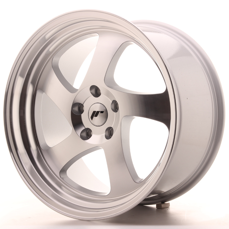 Japan Racing JR15 19x10 ET35 5x100 Silver Machined