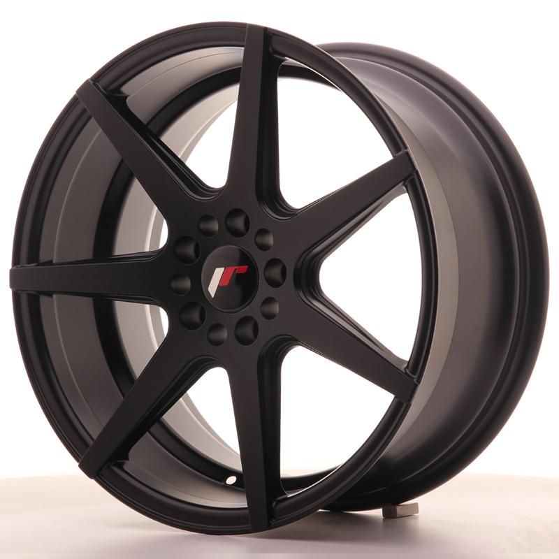 japan racing jr wheels jr20 18x8 5 et35 5x100 5x120 black. Black Bedroom Furniture Sets. Home Design Ideas