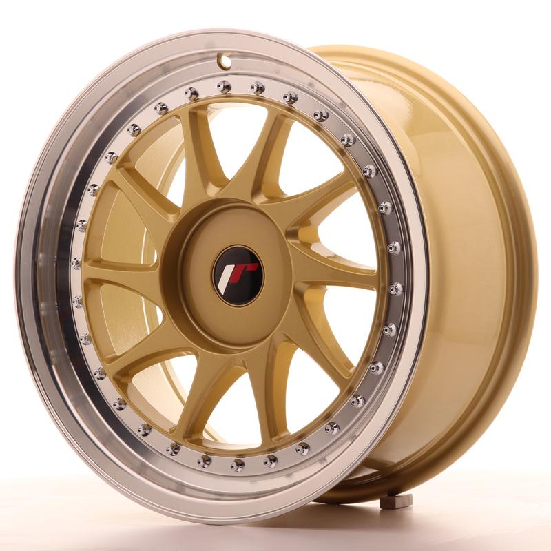 japan racing jr wheels jr26 17x8 et20 35 custom pcd gold. Black Bedroom Furniture Sets. Home Design Ideas