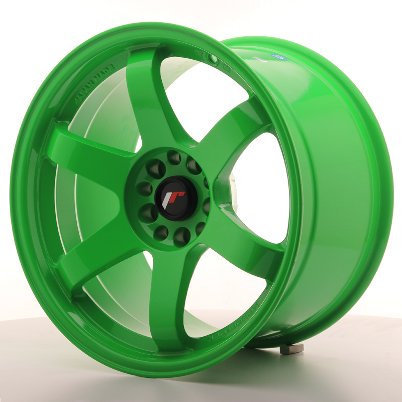 Japan Racing JR3 18x10.5 ET15 5x114.3/120 Green