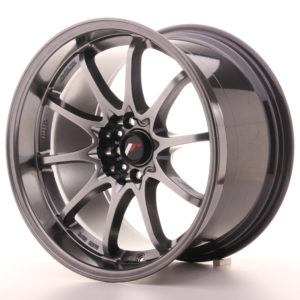 "Japan Racing JR Wheels JR5 18x10.5"" ET12 5x114.3 Hiper Black"