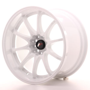 "Japan Racing JR Wheels JR5 18x10.5"" ET12 5x114.3 White"