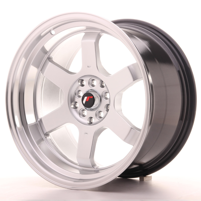 "Japan Racing JR Wheels JR12 18x10"" ET20 5x120 5x114.3 Silver"