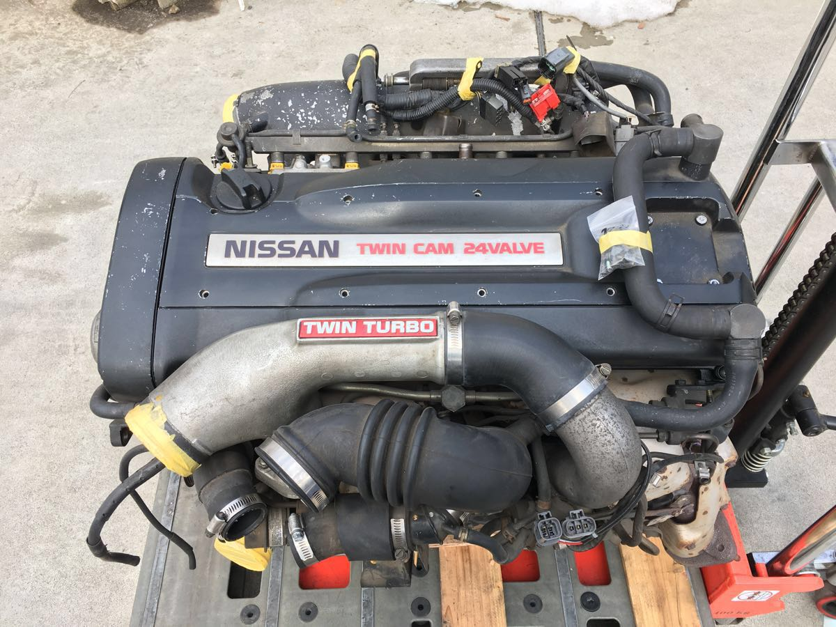 NISSAN SKYLINE R32 GTR RB26 ENGINE