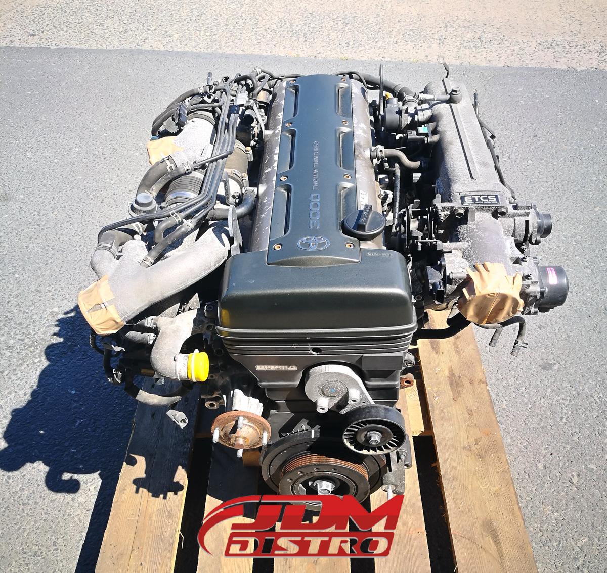2jzgte Complete Engine: TOYOTA SUPRA MKIV JZA80 2JZGTE NON-VVTI ENGINE