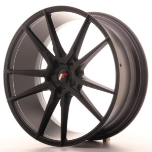 "Japan Racing JR Wheels JR21 22x9.5"" ET30-45 CUSTOM PCD Black"
