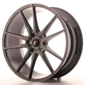 "Japan Racing JR Wheels JR21 22x9.5"" ET30-45 CUSTOM PCD Hiper Black"