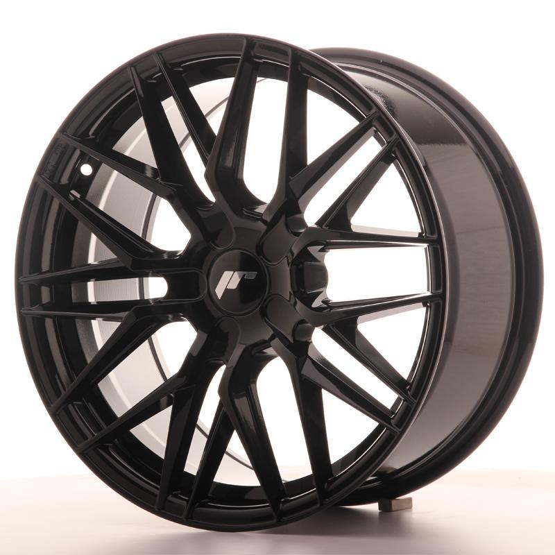 japan racing jr wheels jr28 18x8 5 et40 custom pcd black. Black Bedroom Furniture Sets. Home Design Ideas