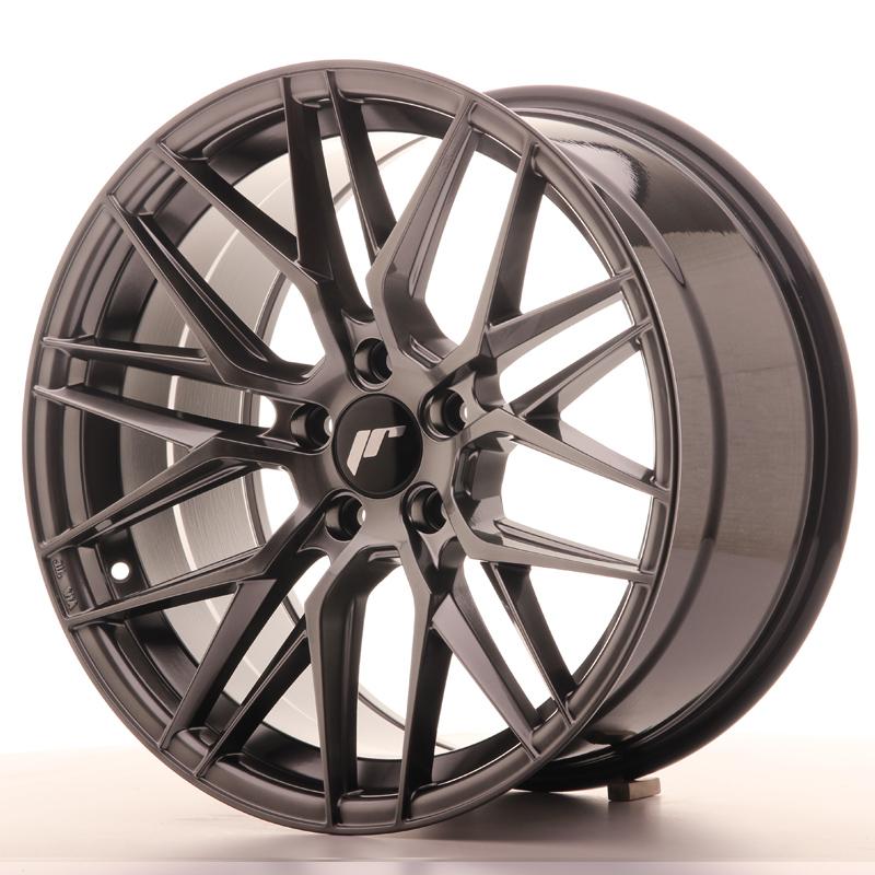 japan racing jr wheels jr28 18x9 5 et35 5x120 hiper black. Black Bedroom Furniture Sets. Home Design Ideas