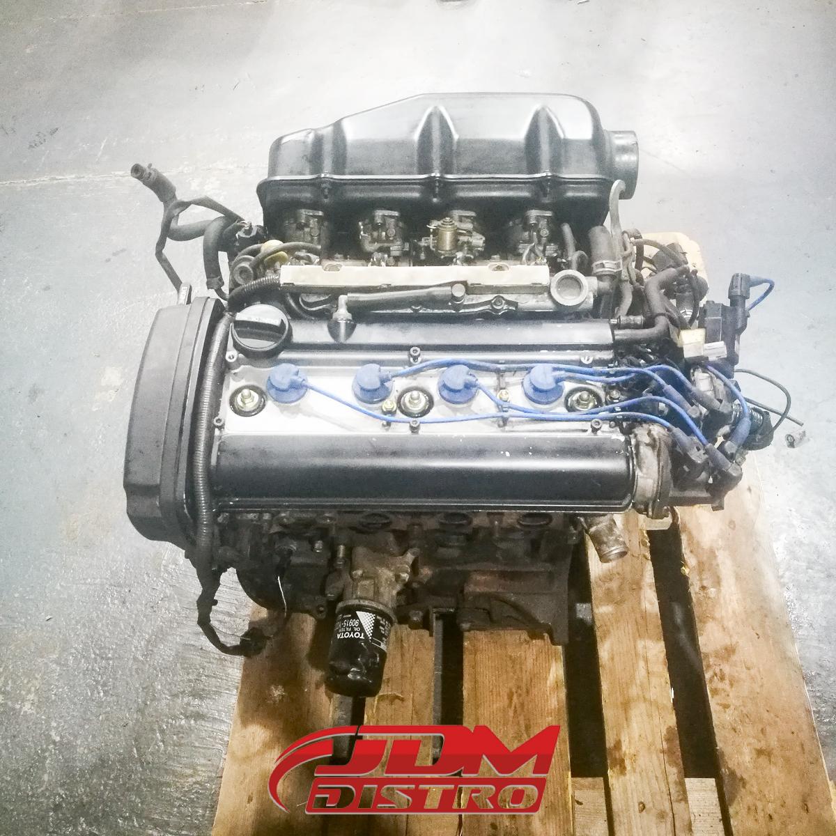 TOYOTA COROLLA LEVIN AE111 4AGE 20V BLACKTOP ENGINE