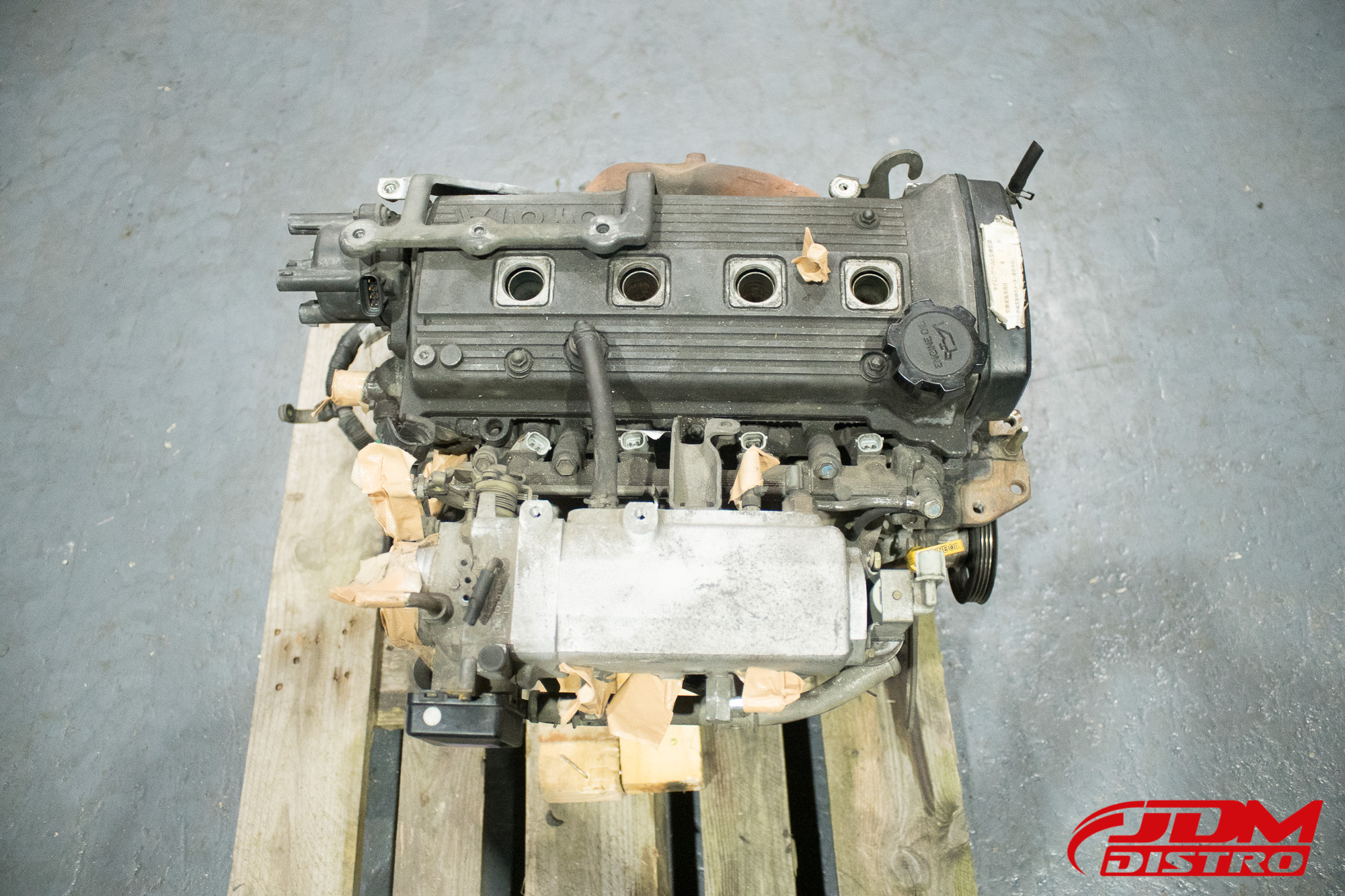 Toyota Starlet Glanza Turbo Ep91 Ep82 4efte Engine Jdmdistro Buy Jdm Parts Online Worldwide Shipping
