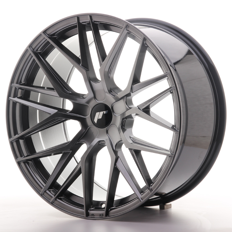 "Japan Racing JR Wheels JR28 20x8.5"" ET40 CUSTOM PCD Hiper Black"