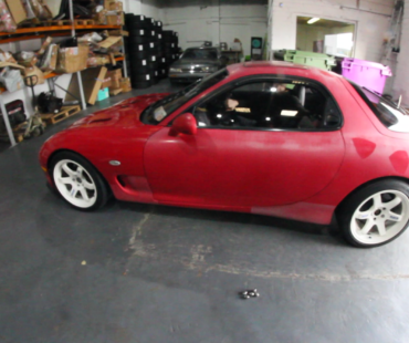 Rare! One of three Irish FD RX7's : Behind the shutter #21