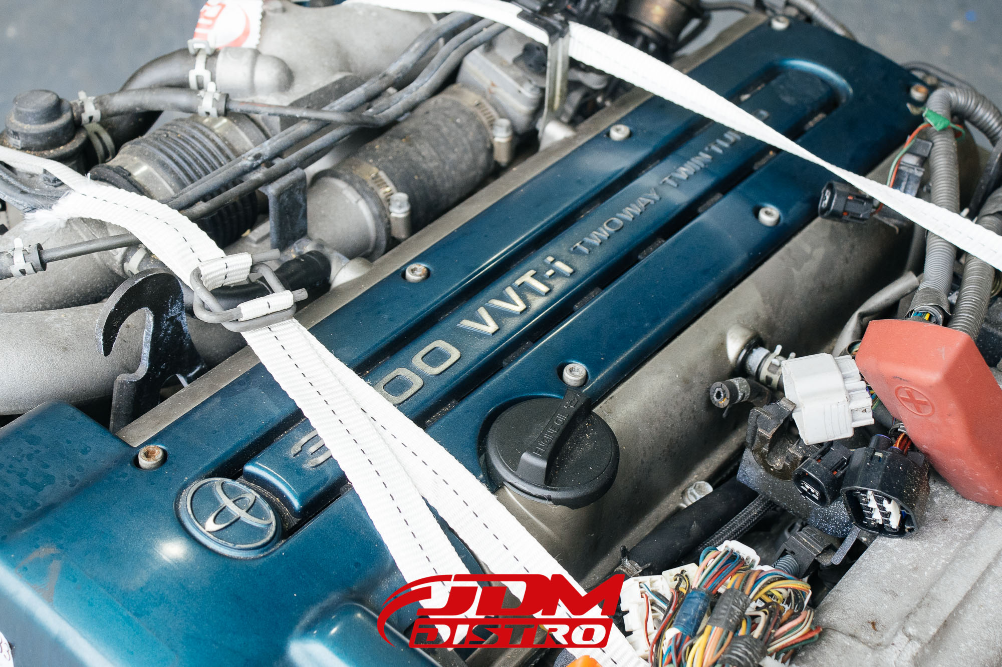 TOYOTA ARISTO SUPRA JZA80 JZS161 2JZGTE VVTI ENGINE ...