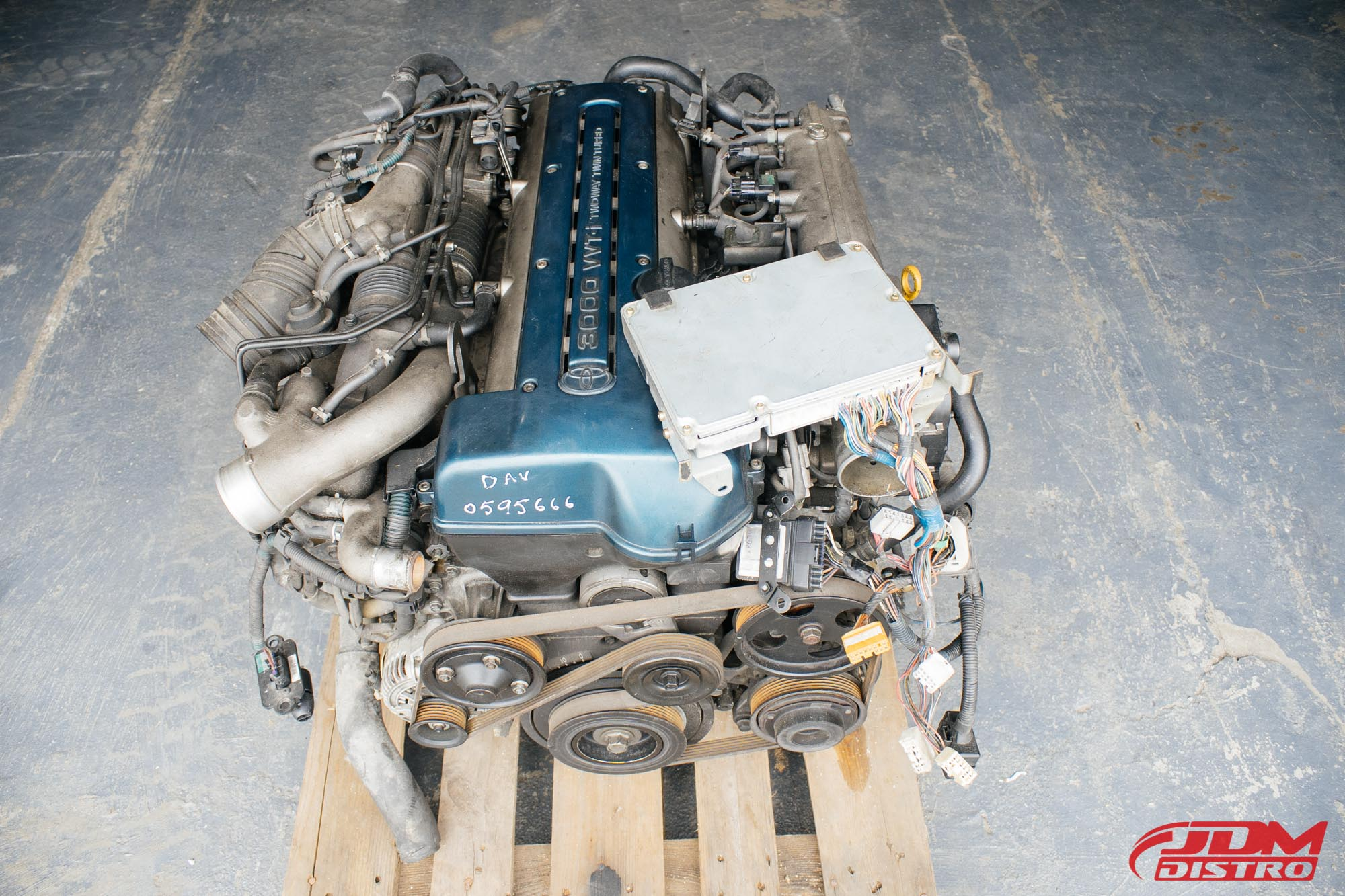 TOYOTA SUPRA JZA80 ARISTO JZS161 2JZGTE VVTI ENGINE