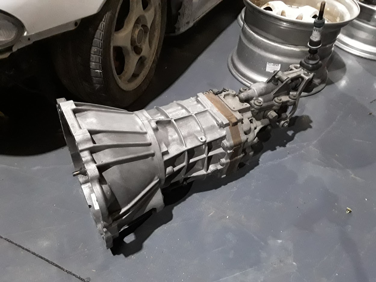 TOYOTA CHASER JZX100 R154 1JZ 2JZ MANUAL GEARBOX
