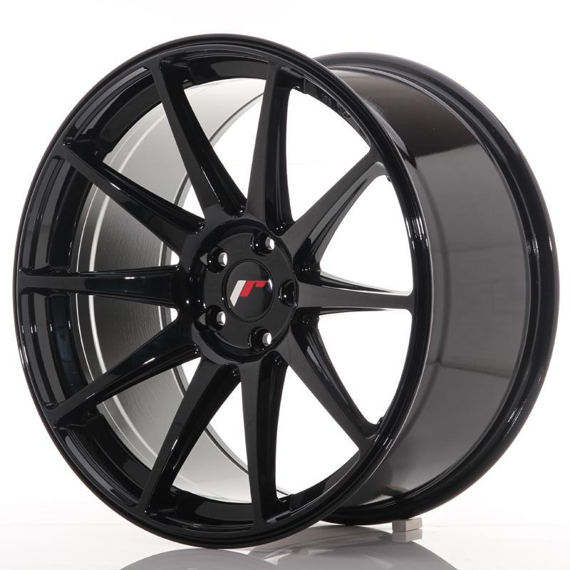 "Japan Racing JR Wheels JR11 20x10"" ET40 5x112 Black"