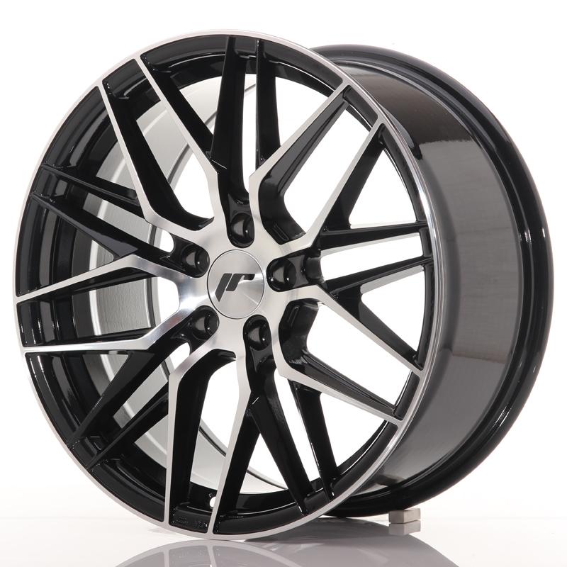 "Japan Racing JR Wheels JR28 18x8.5"" ET40 5x112 Black"